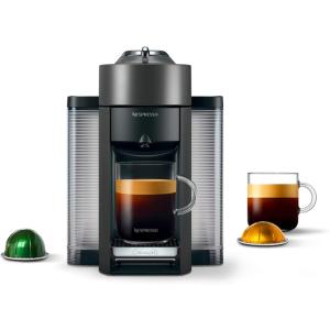 Nespresso ENV135GY coffee and espresso machine with graphite material