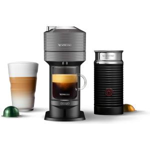 Nespresso ENV120GYAE machine plus aeroccino coffee maker: