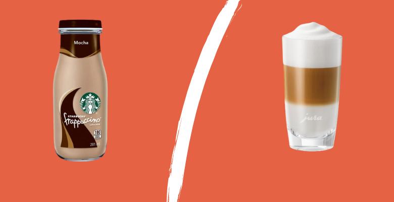 Frappuccino vs Cappuccino [Detailed Comparison]